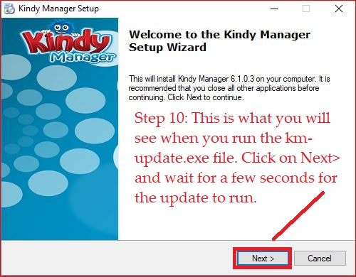 Kindy Manager update 7