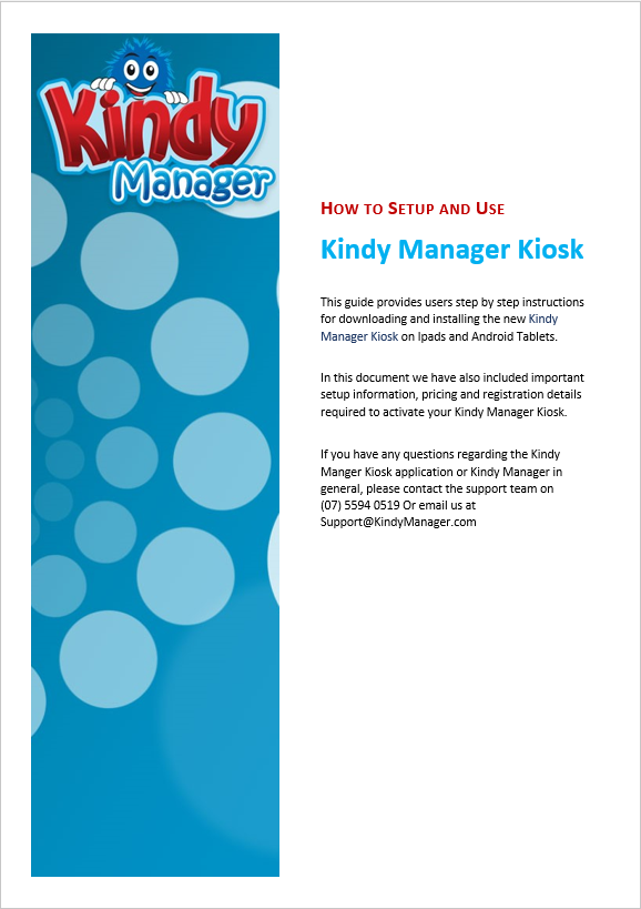 KM Kiosk: Getting Started Guide